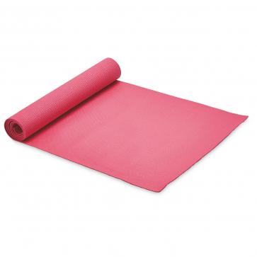Pink Yoga Mat & Carrying Strap