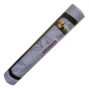 Blue Leaf Yoga Mat & Carrying Strap