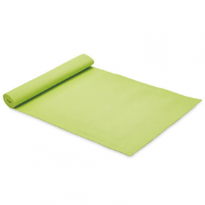 Green Yoga Mat & Carrying Strap