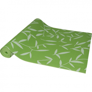 Maha Green Leaf Yoga Mat & Carrying Strap